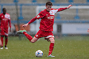 James Ferry (Welling United) during the Vanarama National League match between FC Halifax Town and Welling United at the Shay, Halifax, United Kingdom on 30 January 2016. Photo by Mark P Doherty.
