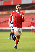 Nottingham Forest U23's Toby Edser during the U23 Professional Development League Play-Off Final match between Nottingham Forest and Bolton Wanderers at the City Ground, Nottingham, England on 4 May 2018. Picture by Jon Hobley.