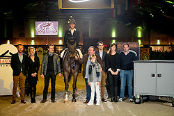 Verlooy Jos, BEL <br /> Beste ruiter van het concours<br /> CSI2* - WEN - Koningshooit 2017<br /> © Hippo Foto - Dirk Caremans<br /> 29/01/2017