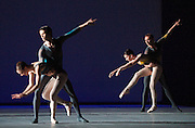 Tryst<br /> The Royal Ballet <br /> at The Royal Opera House, Covent Garden, London, Great Britain <br /> general rehearsal<br /> 21st May 2010 <br /> choreography by Christopher Wheeldon<br /> <br /> Melissa Hamilton<br /> Eric Underwood<br /> Ricardo Cervera<br /> Natalie Harrison <br /> Bennet Gartside<br /> Iohna Loots<br /> <br /> Photograph by Elliott Franks