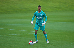 KIRKBY, ENGLAND - Saturday, August 10, 2019: Tottenham Hotspur's goalkeeper Brandon Austin during the Under-23 FA Premier League 2 Division 1 match between Liverpool FC and Tottenham Hotspur FC at the Academy. (Pic by David Rawcliffe/Propaganda)