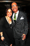 22 May 2011- New York, NY -  l to r: S. Epatha Merkerson and George W. Faison at the Woody King Jr.'s New Federal Theatre 40th Reunion Gala Benefit held at   the Edison Ballroom on May 22, 2011 in New York City. Photo Credit: Terrence Jennings