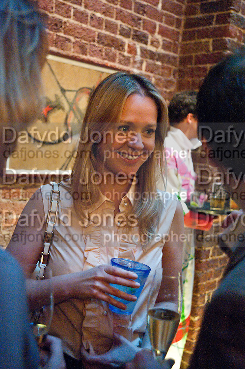 KATE REARDON, The launch party for Elephant Parade hosted at the house of  Jan Mol. Covent Garden. London. 23 June 2009.