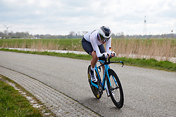 Laura Suessemilch (GER) at Healthy Ageing Tour 2019 - Stage 4A, a 14.4km individual time trial starting and finishing in Winsum, Netherlands on April 13, 2019. Photo by Sean Robinson/velofocus.com