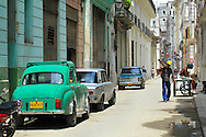 Alberto Carrera, Street Scene, Havana Street, Havana, Cuba, America