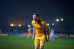 NEWPORT, WALES - Wednesday, December 21, 2016: Newport County's Ben Tozer in action against Plymouth Argyle during the FA Cup 2nd Round Replay match at Rodney Parade. (Pic by David Rawcliffe/Propaganda)