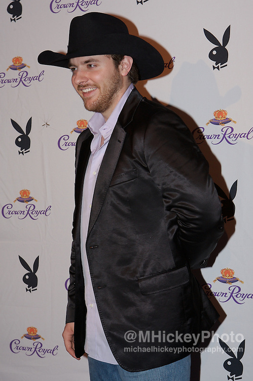 Country recording artist Chris Young at the Kentucky Derby Crown Royal Playboy party in Louisville, Kentucky on May 4 , 2007. Photo by Michael Hickey