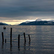 Loch Ness at Dores, Scotland