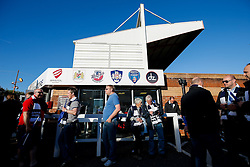 Atmosphere outside before the match - Photo mandatory by-line: Rogan Thomson/JMP - 07966 386802 - 20/05/2015 - SPORT - Rugby Union - Bristol, England - Ashton Gate Stadium - Bristol Rugby v Worcester Warriors - Greene King IPA Championship Play-Off Final 1st Leg.