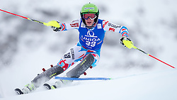 29.12.2014, Hohe Mut, Kühtai, AUT, FIS Ski Weltcup, Kühtai, Slalom, Damen, 1. Durchgang, im Bild Taina Barioz (FRA) // Taina Barioz of France in action during 1st run of Ladies Slalom of the Kuehtai FIS Ski Alpine World Cup at the Hohe Mut Course in Kuehtai, Austria on 2014/12/29. EXPA Pictures © 2014, PhotoCredit: EXPA/ JFK