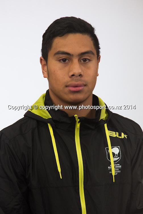 NZRL National Performance Camp U16's, Rotorua, New Zealand. Sunday, 13 July, 2014. Photo: John Cowpland / photosport.co.nz