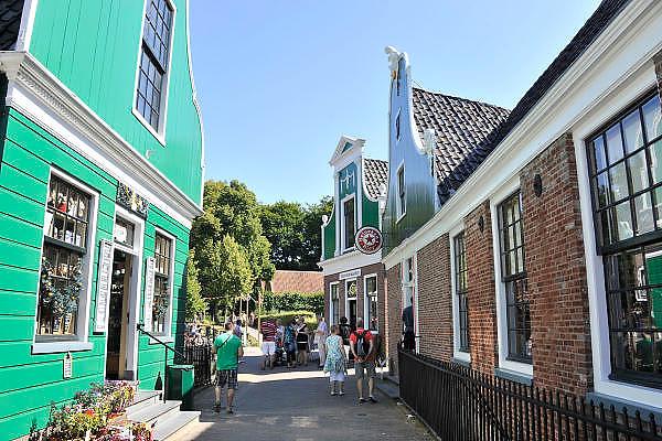 Nederland, Arnhem, 16-10-2012Nederlands Openluchtmuseum. De Zaanse Schans, oud Hollandse bouwkunstFoto: Flip Franssen/Hollandse Hoogte
