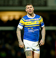 Brett Delaney of Leeds Rhinos during the Betfred Super League match at Emerald Headingley Stadium, Leeds<br /> Picture by Stephen Gaunt/Focus Images Ltd +447904 833202<br /> 08/03/2018