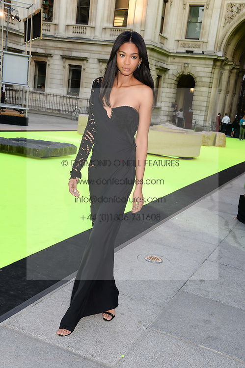 CHANEL IMAN at the preview party for The Royal Academy Of Arts Summer Exhibition 2013 at Royal Academy of Arts, London on 5th June 2013.