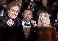 Actors Michael Shannon,  Michael B. Jordan and Sofia Boutella at the Farenheit 451 gala screening at the 71st Cannes Film Festival, Saturday 12th May 2018, Cannes, France. Photo credit: Doreen Kennedy