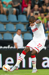 22.07.2015, Grenzland Stadion, Kufstein, AUT, Testspiel, 1. FC Köln vs RCD Espanyol Barcelona, im Bild Anthony Modeste (1. FC Koeln) // during the International Friendly Football Match between 1. FC Cologne and RCD Espanyol Barcelona at the Grenzland Stadion in Kufstein, Austria on 2015/07/22. EXPA Pictures © 2015, PhotoCredit: EXPA/ Johann Groder