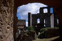 The remains of Burg Rheinfels castle, St. Goar, Germany