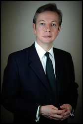 Portrait of Michael Gove Secretary of State for Education, 2010. Photo by Andrew Parsons/i-Images