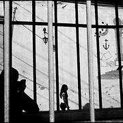 SELF PORTRAITS / AUTORRETRATOS.Photography by Aaron Sosa.San Felipe, Yaracuy State - Venezuela 2006.(Copyright © Aaron Sosa)
