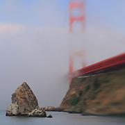 Golden Gate Bridge Fog - Lensbaby
