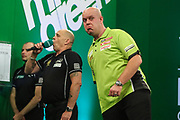 Michael van Gerwen during the PDC Darts Players Championship at  at Butlins Minehead, Minehead, United Kingdom on 24 November 2017. Photo by Shane Healey.
