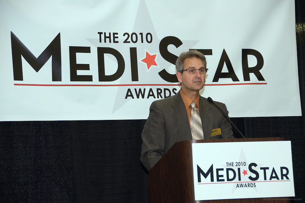 The fourth annual MediStar Awards Presentation and Cocktail Reception, a Medical News Signature Event, March 30, 2010 in the Archibald Cochran Room at the Galt House in Louisville, Ky. The MediStar Awards were established in 2007 as the region's premier venue for recognizing excellence in the business of Healthcare. (Photo by Brian Bohannon)
