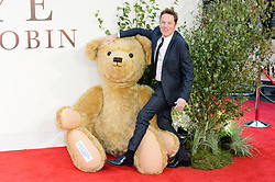 © Licensed to London News Pictures. 20/09/2017. London, UK. BRIAN CONLEY attends the world film premiere of Goodbye Robin in Leicester Square. Photo credit: Ray Tang/LNP