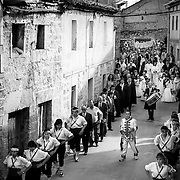 Baby jumping (El Colacho) is a traditional Spanish festivity dating back to 1620 that takes place annually to celebrate the Catholic feast of Corpus Christi in Burgos.