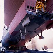 Ship Repair at Forgacs Floating Dock - Newcastle Australia