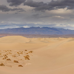 Mesquite Flat Sand Dunes in Death Valley National Park, CA.