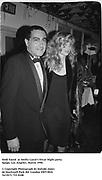 Dodi Fayed  at Swifty Lazar's Oscar Night party. Spago. Los Angeles. March 1990.<br /><br />© Copyright Photograph by Dafydd Jones<br />66 Stockwell Park Rd. London SW9 0DA<br />Tel 0171 733 0108<br />Film. 90233/15