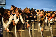 Fans at the Bamboozle Music Festival. Meadowlands Sports Complex, East Rutherford, NJ.  April 30, 2011. Copyright © 2011 Chris Owyoung.