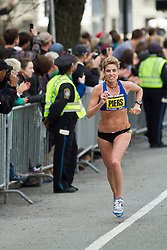 2013 Boston Marathon: Sheri Piers, 41, ME less than one mile to go