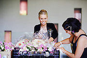 Floral arrangements Wedding the Deck Prince Hotel St Kilda