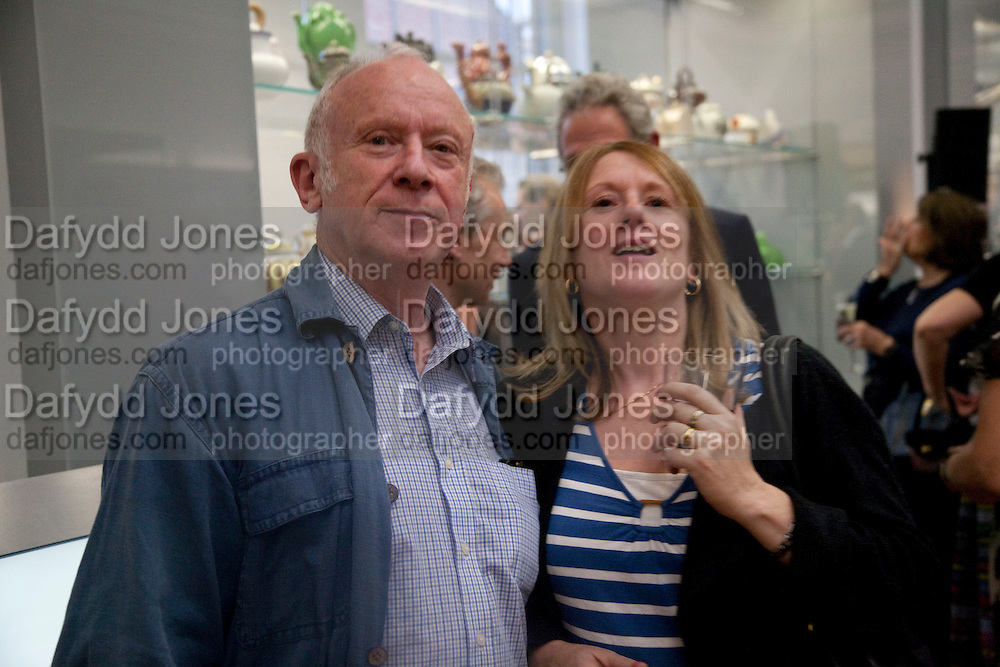 ROBERT BRECKMAN; DAUGHTER; TRILBY BRECKMAN, Opening of the V. and A.'s New Ceramics Galleries by the Princess Royal. V. & A. London. 16 September 2009