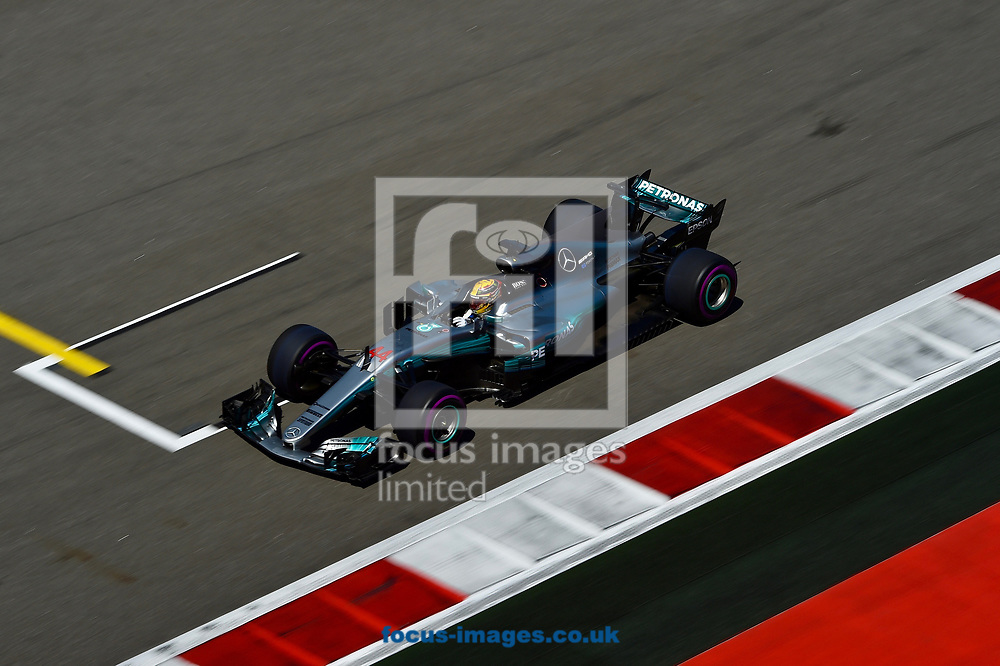 Lewis Hamilton of Mercedes AMG Petronas en route to coming fourth in the Russian Formula One Grand Prix at Sochi Autodrom, Sochi, Russia.<br /> Picture by EXPA Pictures/Focus Images Ltd 07814482222<br /> 30/04/2017<br /> *** UK & IRELAND ONLY ***<br /> <br /> EXPA-EIB-170430-0272.jpg