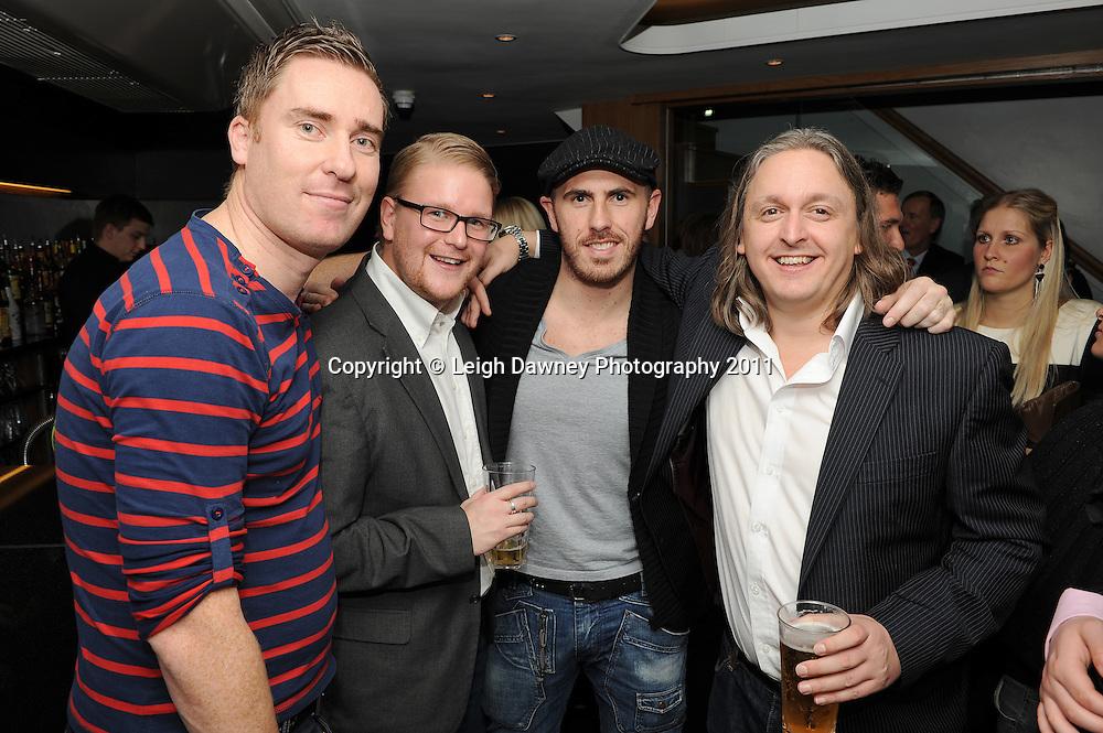 Highlights of The Vertigo Bar, Hornchurch. Official opening night. 01.12.11. Photo: Leigh Dawney