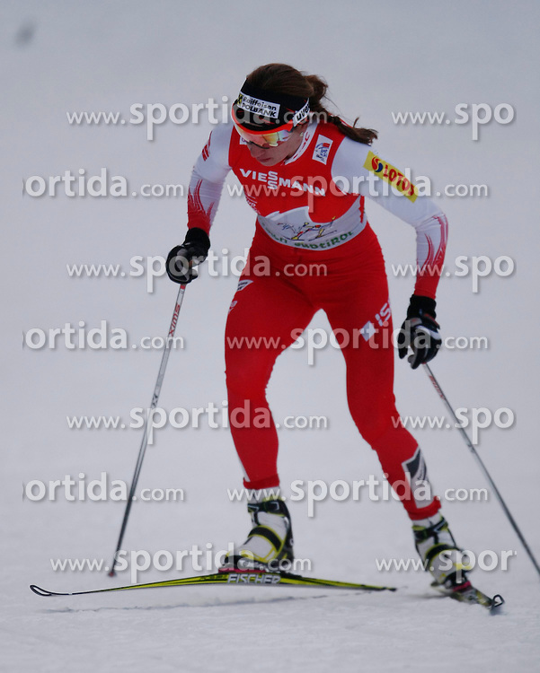 03.01.2013, Nordische Arena, Toblach, ITA, FIS Langlauf Weltcup, Tour de Ski 2013, Damen, 15km Verfolgung, im Bild Justyna Kowalczyk // during Ladies 15 km Free Pursuit of the Tour de Ski 2013 of the FIS cross country world cup at nordic arena in Dobiacco, Italy on 2013/01/03. EXPA Pictures © 2013, PhotoCredit: EXPA/ Newspix/ Irek Dorozanski..***** ATTENTION - for AUT, SLO, CRO, SRB, BIH, TUR, SUI and SWE only *****