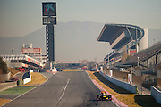 Sebastian Vettel (GER) drives the Red Bull Racing RB8  Formula One Testing, Circuit de Catalunya, Barcelona, Spain, World Copyright: Jamey Price