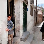 Jordan. Amman. Syrian refugees.  April 18th 2013.
