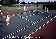 Outdoor recreation, tennis, Tennis, Friendly Competition, Aged Couple Tennis