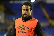 Hull City midfielder Tom Huddlestone during the Sky Bet Championship match between Birmingham City and Hull City at St Andrews, Birmingham, England on 3 March 2016. Photo by Alan Franklin.