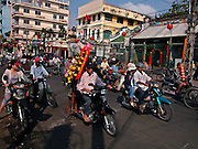Vietnam, Ho Chi Min City: Cholon district.
