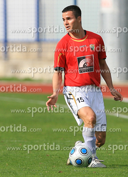Renato De Moraes of Rudar at 26th Round of Slovenian First League football match between NK Domzale and NK Rudar Velenje in Sports park Domzale, on April 4, 2009, in Domzale, Slovenia. (Photo by Vid Ponikvar / Sportida)