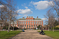 Kensington Gardens in early spring, March 2010
