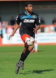 Stevenage's Jerome Okimo. - Photo mandatory by-line: Nizaam Jones - Mobile: 07966 386802 - 06/04/2015 - SPORT - Football - Cheltenham - Whaddon Road - Cheltenham Town v Stevenage - Sky Bet League Two