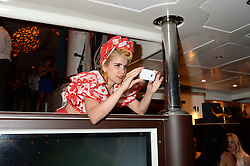 The Johnnie Walker Gold Label Reserve Party aboard John Walker & Sons Voyager, St.Georges Stairs Tier, Butler's Wharf Pier, London, UK on 17th July 2013.<br /> Picture Shows:-Paloma Faith.