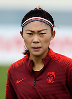 International Women's Friendly Matchs 2019 / <br /> Womens's Algarve Cup Tournament 2019 - <br /> Denmark v China 1-0 ( Complexo Desportivo - Vila Real Santo Antonio,Portugal ) - <br /> LIU HUITING of China