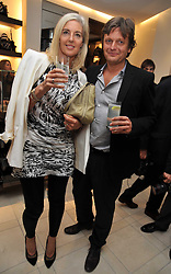 TOM CHAPMAN and his wife RUTH founders of fashion stores Matches  at a reception hosted by Vogue and Burberry to celebrate the launch of Fashions Night Out - held at Burberry, 21-23 Bond Street, London on 10th September 2009.