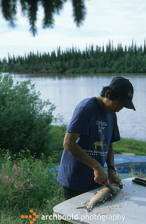 First Nation fish camp